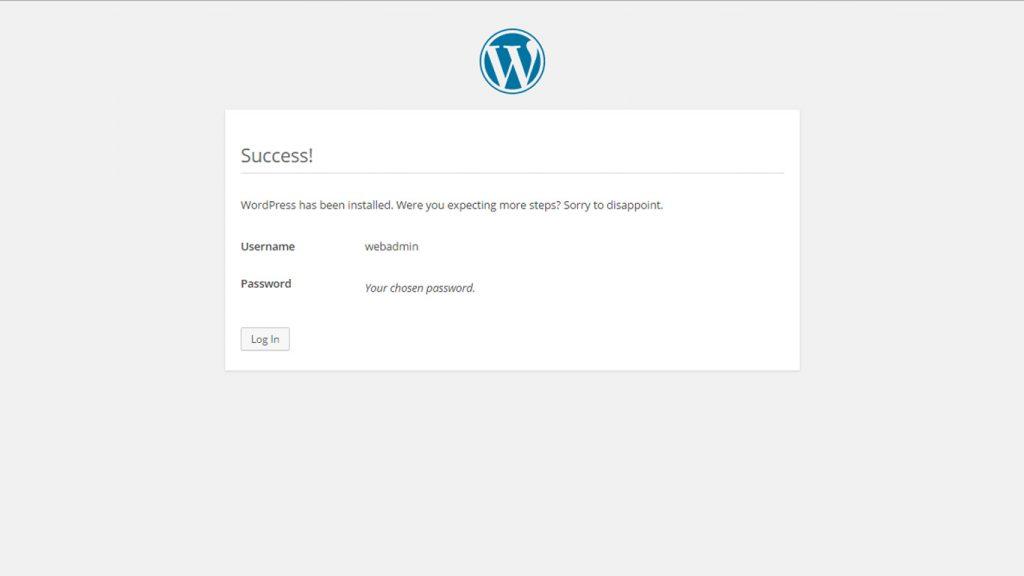 Wordpress uzstādīšana