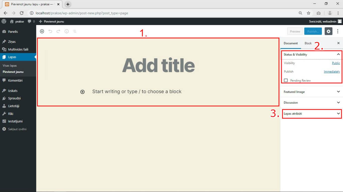 wordpress-funkcionalitate-pievienot-jaunu-lapu-kebbeit