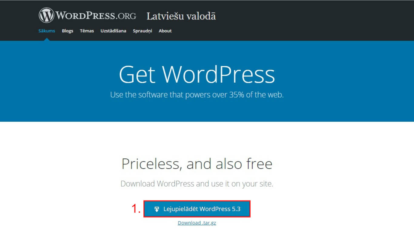 wordpress-majaslapas-izveide-wordpress-lejupieladesana-kebbeit
