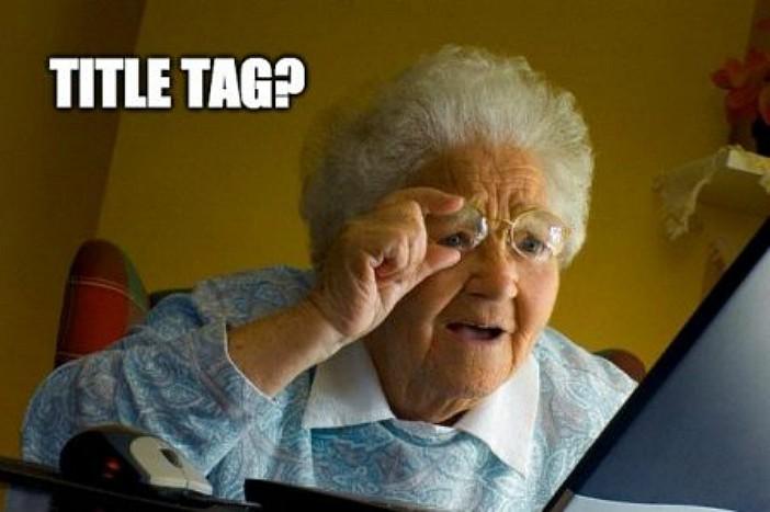 """HTML elementā """"Title tag"""" jānorāda atbilstošais atslēgvārds"""