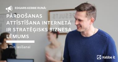 internetveikals nozīmīgs biznesa lēmums