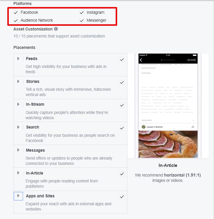 Facebook Ads Manager iespējams sinhronizēt reklāmu ar Instagram