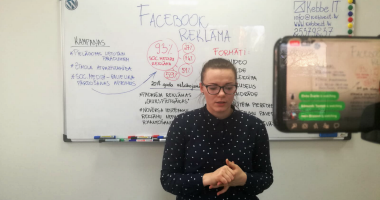 Facebook reklāma - Kebbe IT