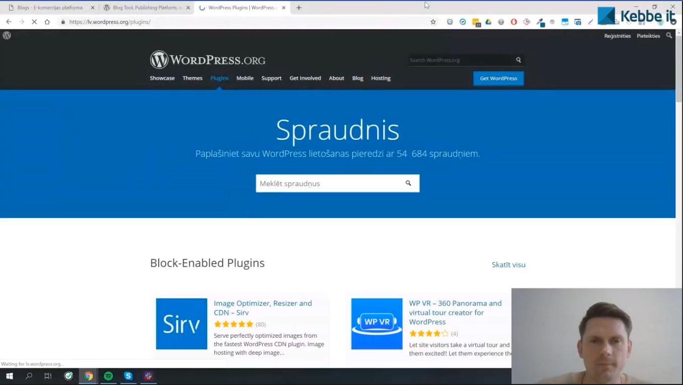 5 nozīmīgākie WordPress moduļi