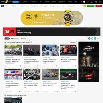 James Allen on F1 jaunumu portāls veidots uz WordPress bāzes