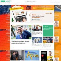 Ziņu portāls / mājaslapa uz WordPress bāzes Latvijas Avīzei