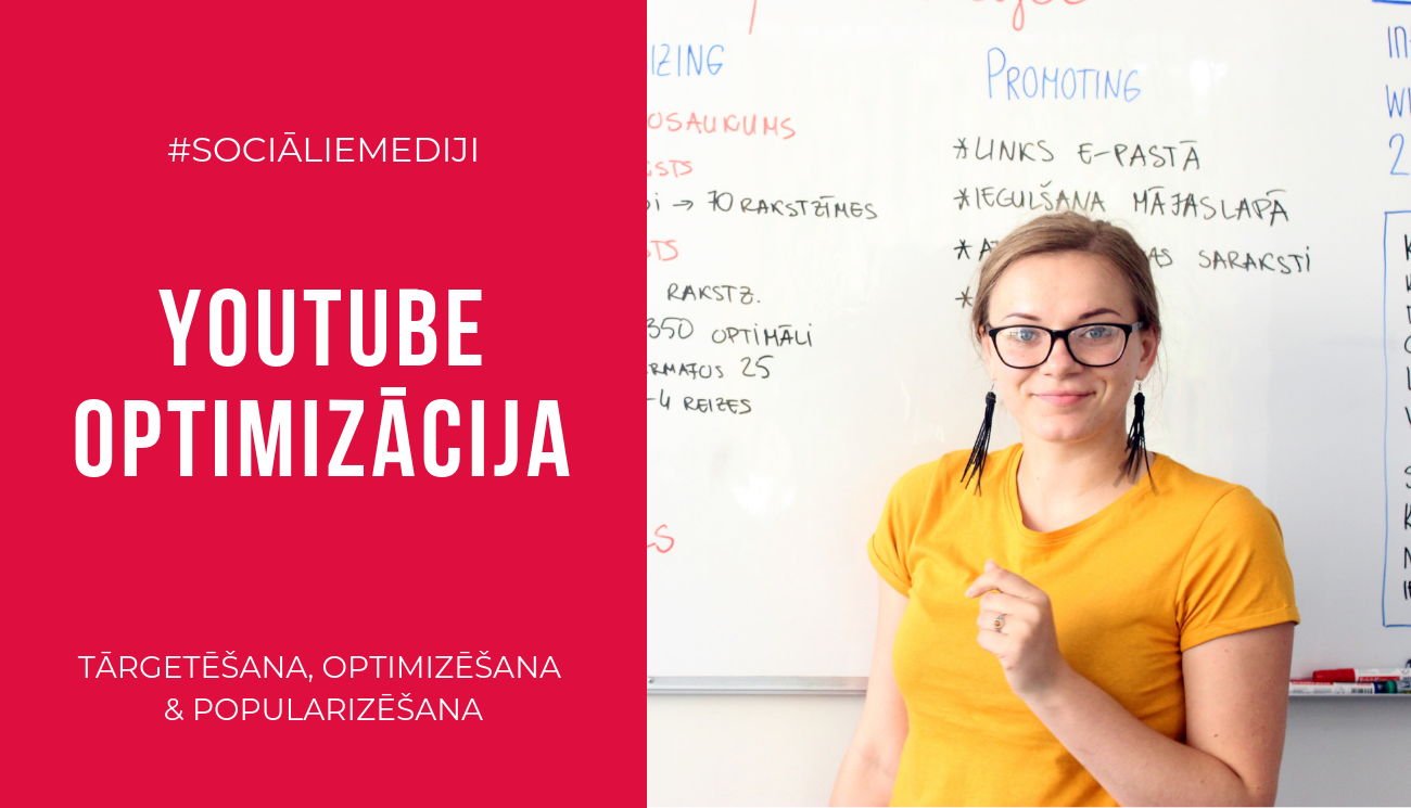 Youtube optimizācija - Kebbe IT