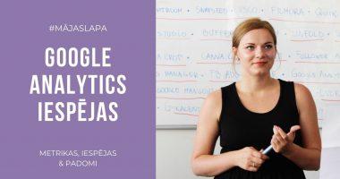 5 Google Analytics sniegtās iespējas - Kebbe IT