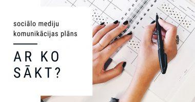 Sociālo meidju komunikācijas plāns - ar ko sākt?