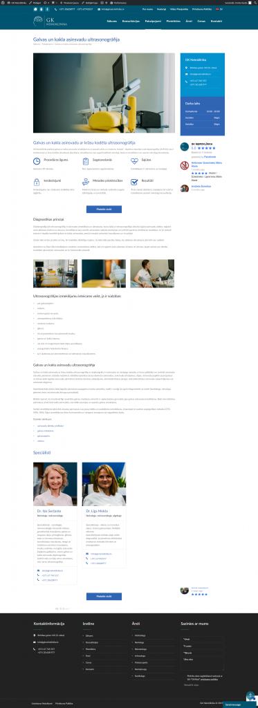 Atvērts pakalpojums mājaslapā pēc izmaiņām