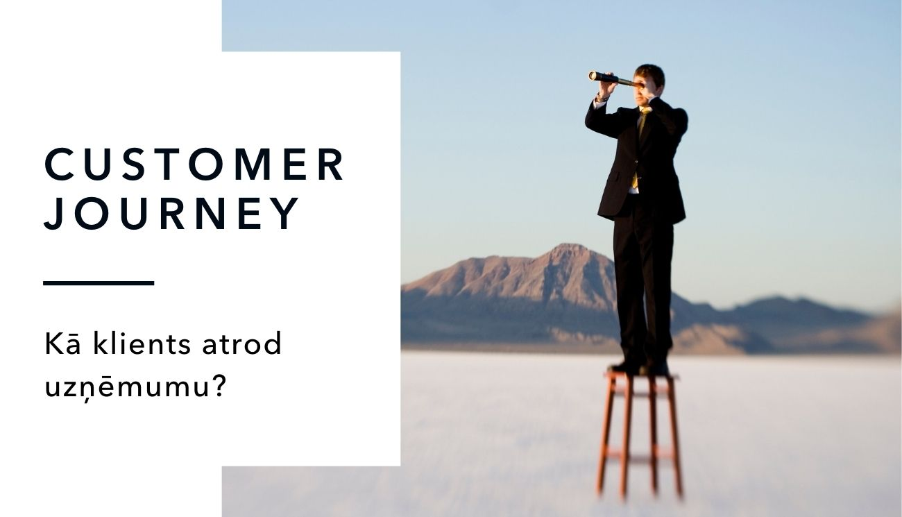 Customer journey jeb pircēja ceļojums