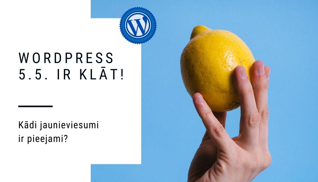 WordPress 5.5. atjauninājumi - kas jauns ieviests?