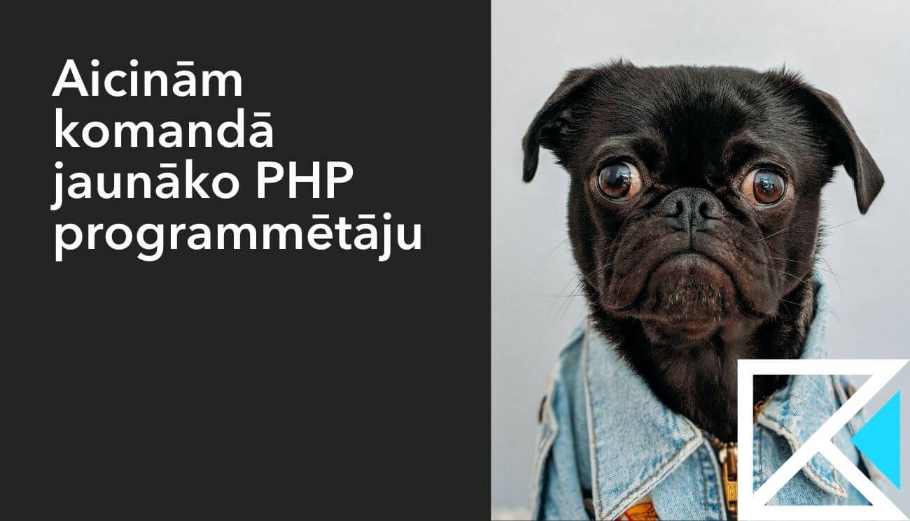 Meklējam jaunāko PHP programmētāju!