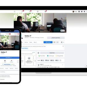 Facebook biznesa lapa - piemērs